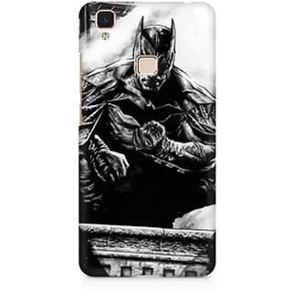 CopyCatz Batman The Dark Knight Premium Printed Case For Vivo V3 Max