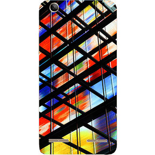 Saai Creation Lenovo K5 Note Multi Colour Graffiti  Illustrations Back Cover