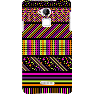 Snapdilla Multi Color Stripes Different Unique Pattern Colorful Phone Case For Coolpad Note 3