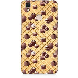 CopyCatz Chocolate Love Premium Printed Case For Vivo V3 Max