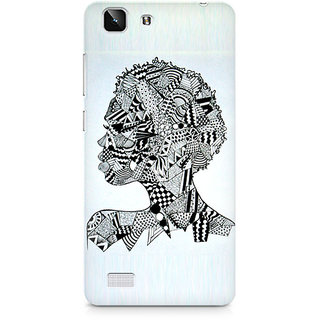 CopyCatz Abstract Pattern Premium Printed Case For Vivo X5