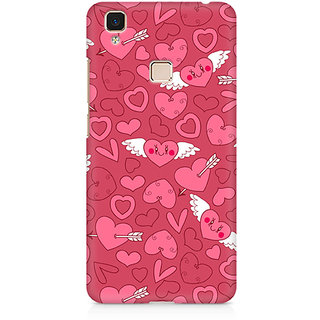 CopyCatz Panties And Strawberry Premium Printed Case For Vivo V3 Max