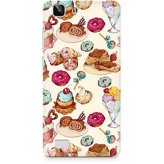 CopyCatz Cakes And Tea Premium Printed Case For Vivo X5
