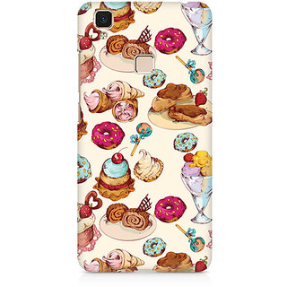 CopyCatz Cakes And Tea Premium Printed Case For Vivo V3 Max