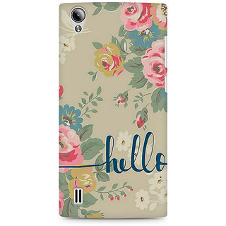 CopyCatz Floral Girly Wall Premium Printed Case For Vivo Y15