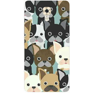 Unique Print Back Cover For Gionee M6
