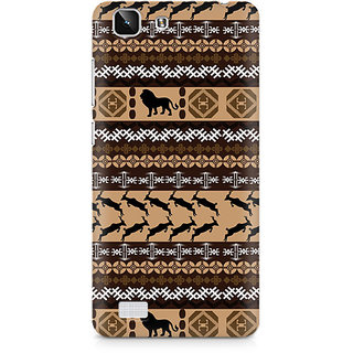 CopyCatz Primitive Yoga Premium Printed Case For Vivo X5