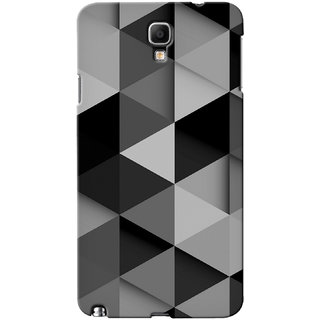 Snooky Grey Back Cover For Samsung Galaxy Note 3 Neo