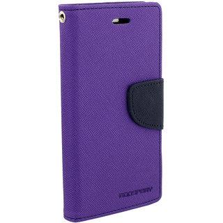 Coolpad Note 3 Flip Cover By Unique Print - Purple