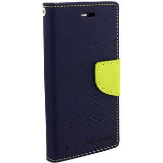 Asus Zenfone 5 Flip Cover By Unique Print - Blue