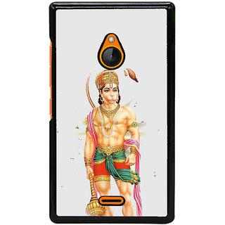 Fuson Designer Back Cover For Microsoft Lumia 540 Dual SIM (Anjaneya  Bajrangbali  Deenabandhave  Kalanabha  Chiranjeevi)