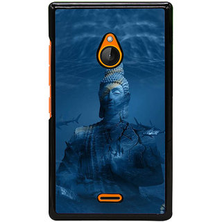Fuson Designer Back Cover For Microsoft Lumia 540 Dual SIM (Gautama Buddha  Siddhartha Gautama Shakyamuni Buddha  Buddhism  Buddhists  Munish Tatharaj)