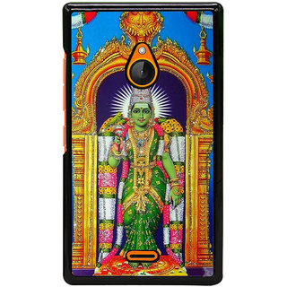 Fuson Designer Back Cover For Microsoft Lumia 540 Dual SIM (Warrior Goddess Aarya Aparna Bhaavni)