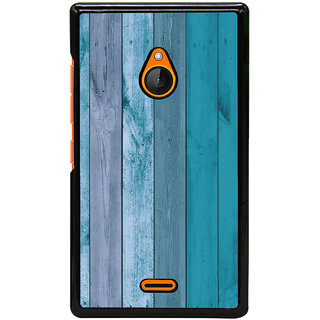 Fuson Designer Back Cover For Microsoft Lumia 540 Dual SIM (Wooden Woody Strong Light Shady)