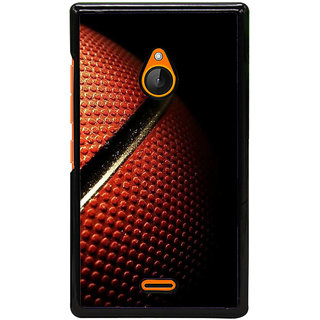 Fuson Designer Back Cover For Microsoft Lumia 540 Dual SIM (Basket Ball Game Sport Stadium Playground)