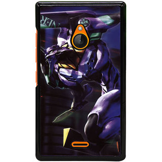 Fuson Designer Back Cover For Microsoft Lumia 540 Dual SIM (Superhero Cartoon Charecter Imaginary Illusionary)