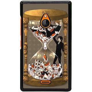 Fuson Designer Back Cover For Microsoft Lumia 540 Dual SIM (Love Strong Feeling Money Value Sacrifice)