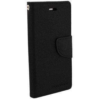 Samsung Galaxy A5 Flip Cover By Unique Print - Black