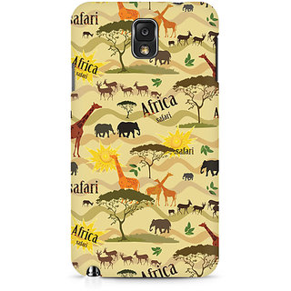 CopyCatz African Safari Premium Printed Case For Samsung Note 3 N9006