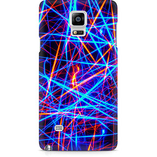 CopyCatz Abstract Ultra Premium Printed Case For Samsung Note 4 N9108