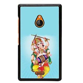 Fuson Designer Back Cover For Microsoft Lumia 540 Dual SIM (Ganesha GAnapathi Lord GAnapthi Lord Ganesha Ganesha Idol)
