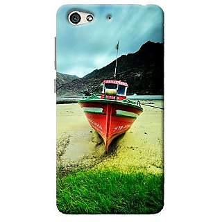Blue Throat Printed Back Cover For Gionee S6