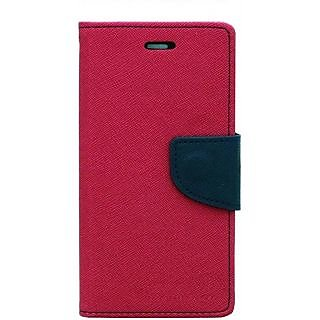 Sony Xperia C3 Flip Cover By Unique Print - Pink