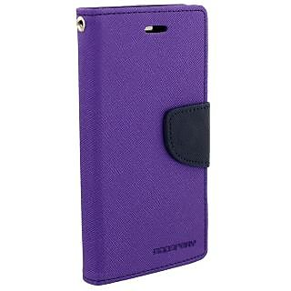 Sony Xperia Z1 Flip Cover By Unique Print - Purple