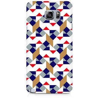 CopyCatz Checked Square Premium Printed Case For Samsung Note 5