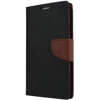 Sony Xperia Z3 Flip Cover By Unique Print - Brown