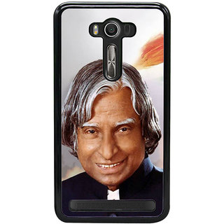 Fuson Designer Back Cover For Asus Zenfone 2 Laser ZE550KL (11thpresident  Engineer  Scientist Missile Man Kalam)