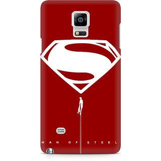 CopyCatz Man Of Steel Premium Printed Case For Samsung Note 4 N9108