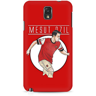 CopyCatz Mesut Ozil Premium Printed Case For Samsung Note 3 N9006