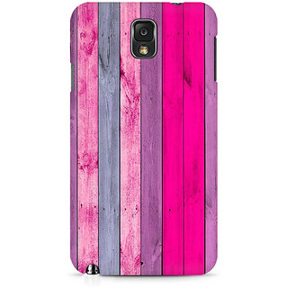 CopyCatz Pink Wood Shade Premium Printed Case For Samsung Note 3 N9006