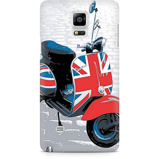 CopyCatz Vespa From UK Premium Printed Case For Samsung Note 4 N9108