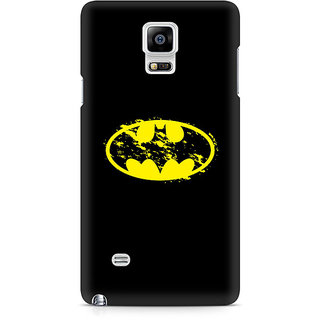 CopyCatz Flourished Yellow Batman Premium Printed Case For Samsung Note 4 N9108