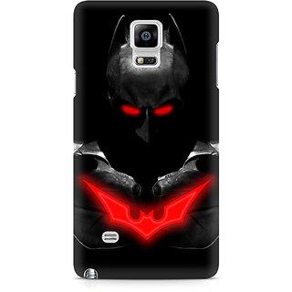 CopyCatz Red Eyed Batman Premium Printed Case For Samsung Note 4 N9108
