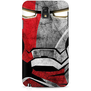 CopyCatz Red Soldier Premium Printed Case For Samsung Note 3 N9006