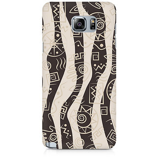 CopyCatz Abstract Tribal Wave Premium Printed Case For Samsung Note 5