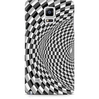 CopyCatz Illusion Checks Premium Printed Case For Samsung Note 4 N9108