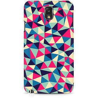 CopyCatz Colorful Triangles Premium Printed Case For Samsung Note 3 N9006
