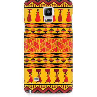 CopyCatz Colorful Lady Premium Printed Case For Samsung Note 4 N9108