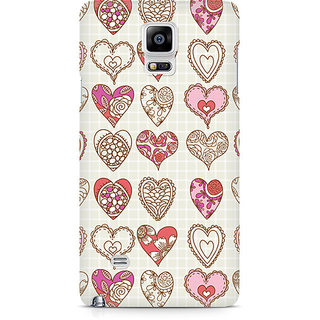 CopyCatz So Many Hearts Premium Printed Case For Samsung Note 4 N9108
