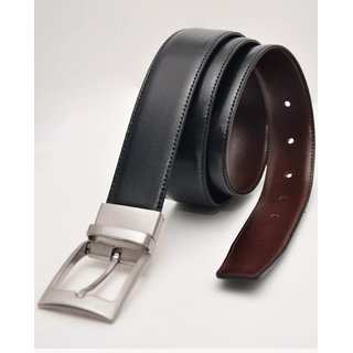 reversible mens leather belt (Synthetic leather/Rexine)