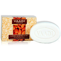Vaadi Herbals Daily Care Almond Soap For All Skin Types - 75g(Set of 1)