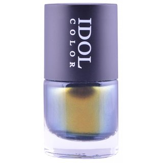 Idol Color Imported COLOR CHANGING Nail Polish shade shifts from a Refined Gold to a light Olive Green  ID - 208