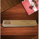 Personalized Laser Engraved Wooden Single Pen Box