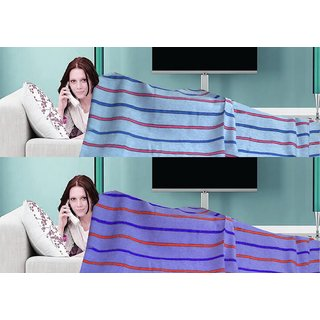 Pack of 2 Cotton Top Sheet for Summers