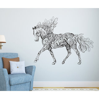 Wall Stickers Artistic Horse Contemporary Design for Living Room
