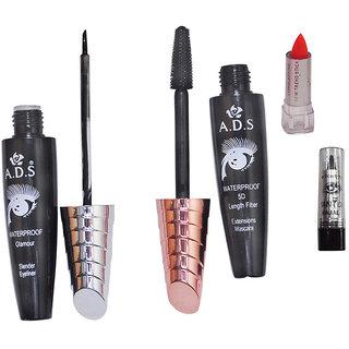 ADS Eyeliner / Mascara / Mini Lipstick / Kajal